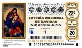 Loteria de Navidad 2021